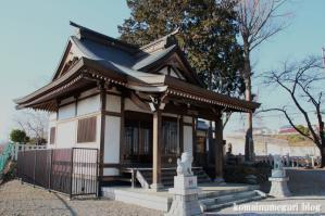 森山神社(あきる野市草花)3