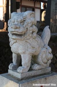 森山神社(あきる野市草花)6