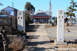 徳力三社神社(さいたま市岩槻区徳力)2