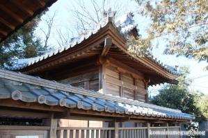 八幡神社(さいたま市岩槻区南辻)6