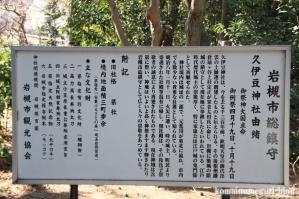 久伊豆神社(さいたま市岩槻区宮町)21