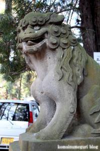 久伊豆神社(さいたま市岩槻区宮町)17