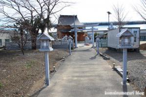 長宮香取神社(さいたま市岩槻区長宮)1