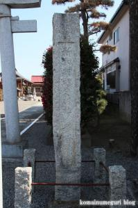 高曽根稲荷神社(さいたま市岩槻区高曽根)2