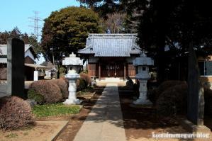 八幡神社(さいたま市岩槻区尾ケ崎) b 3