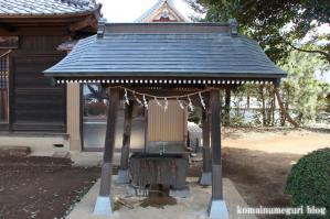 八幡神社(さいたま市岩槻区尾ケ崎) b 5