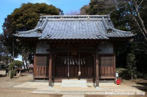 八幡神社(さいたま市岩槻区尾ケ崎) b 6