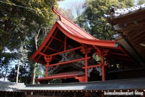 八幡神社(さいたま市岩槻区尾ケ崎) b 8