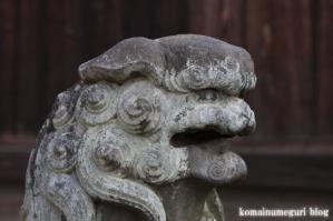 八幡神社(さいたま市岩槻区尾ケ崎) b 22