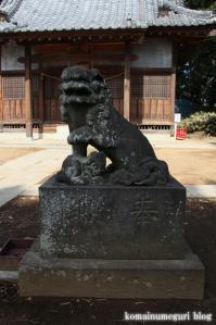 八幡神社(さいたま市岩槻区尾ケ崎) b 14