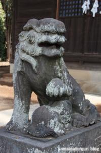 八幡神社(さいたま市岩槻区尾ケ崎) b 15
