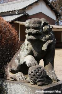 八幡神社(さいたま市岩槻区尾ケ崎) b 19