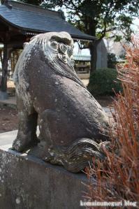 八幡神社(さいたま市岩槻区尾ケ崎) b 21