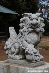 浮谷神社(さいたま市岩槻区浮谷)6