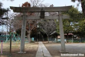 冨士浅間神社(さいたま市岩槻区笹久保新田)4