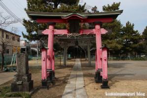 冨士浅間神社(さいたま市岩槻区笹久保新田)1