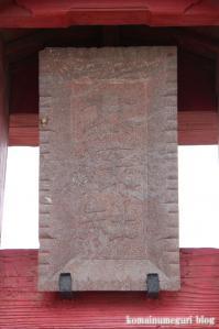 北辰神社(さいたま市岩槻区横根)2