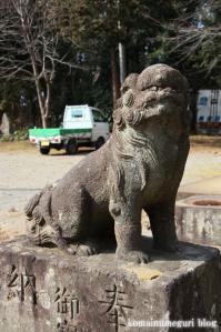 久伊豆神社(さいたま市岩槻区南下新井)23