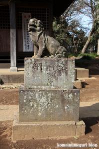 久伊豆神社(さいたま市岩槻区南下新井)18