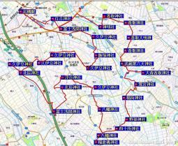 岩槻南部周遊31.7km