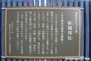 柊稲荷社(さいたま市浦和区前地)2