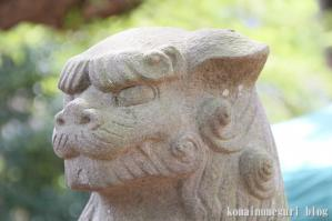 下落合氷川神社(さいたま市中央区下落合)14