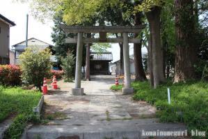 中里稲荷神社(さいたま市中央区新中里)1