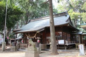 西堀氷川神社(さいたま市桜区西堀)6