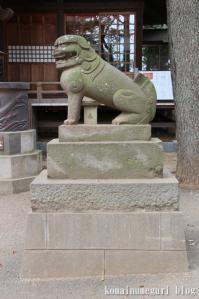 西堀氷川神社(さいたま市桜区西堀)31