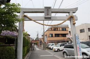 田島氷川社(さいたま市桜区田島)1