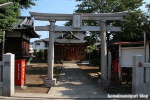 本天沼稲荷神社(杉並区天沼)1