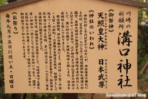 溝口神社(川崎市高津区下溝口)7