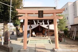 氷川神社(川崎市高津区宇奈根)1