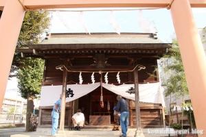 氷川神社(川崎市高津区宇奈根)4