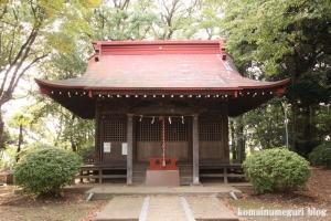 長尾神社(川崎市多摩区長尾)2