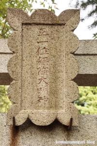 船島稲荷大明神(川崎市多摩区宿河原)5