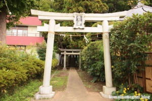 熊野神社(鎌倉市大船)1