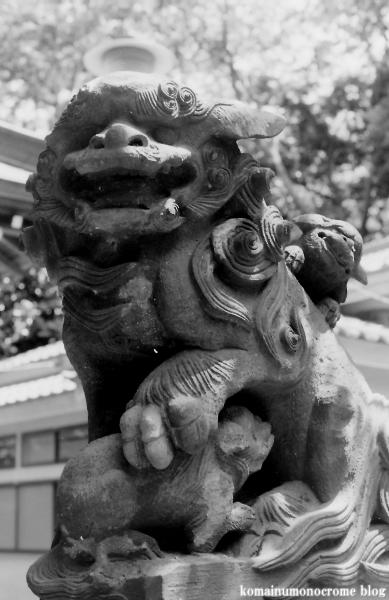 白幡神社(横浜市鶴見区東寺尾)2