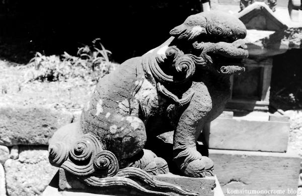 上神明神社(横浜市鶴見区獅子ヶ谷)3