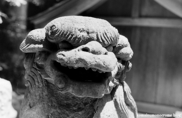 上神明神社(横浜市鶴見区獅子ヶ谷)2