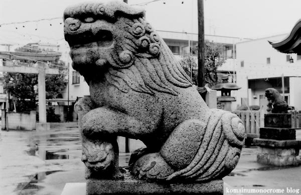 大島八幡神社(川崎区大島)1