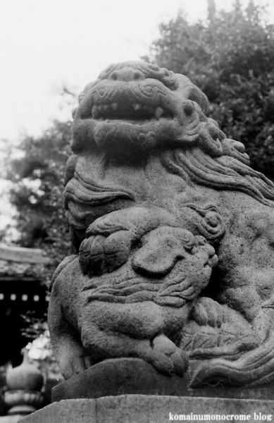 新田神社(川崎区渡田)2
