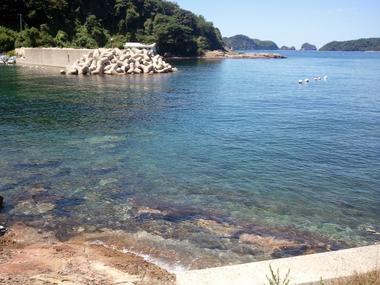 日本海側は綺麗だねぇ♪@松江市島根町