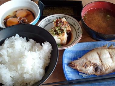 朝っぱらから こんな食えるか定食!!w