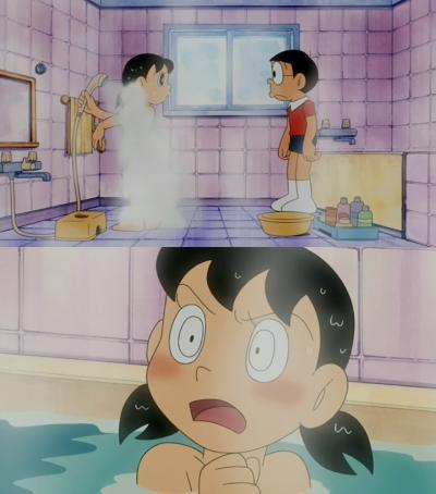 サンタイン 入浴シーン