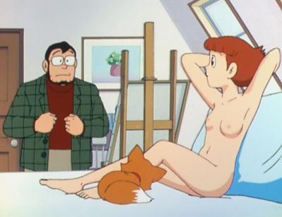 エスパー魔美 佐倉魔美 全裸ヌードモデル