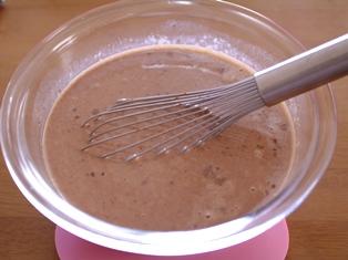 チョコレートのプディング05
