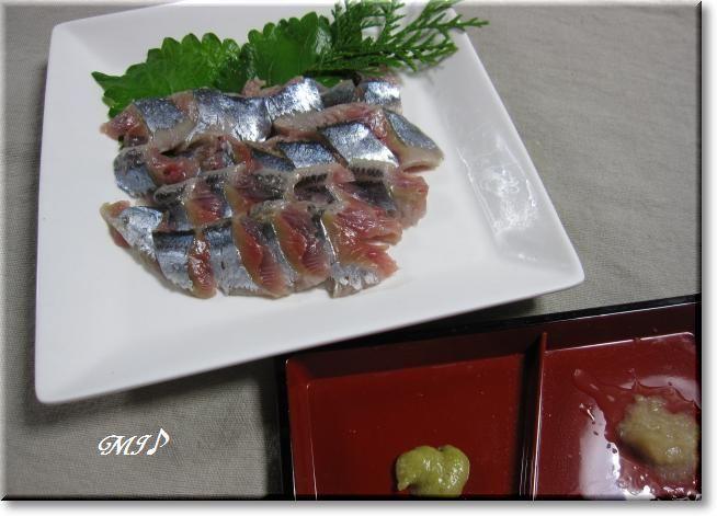 『秋刀魚の刺身』