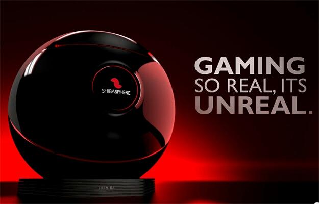 東芝、高機能ゲームコンソール「Shibasphere」発表!!赤外線モーション検出、12コアCPU搭載