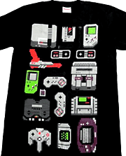 8ビットコンソール Tシャツ